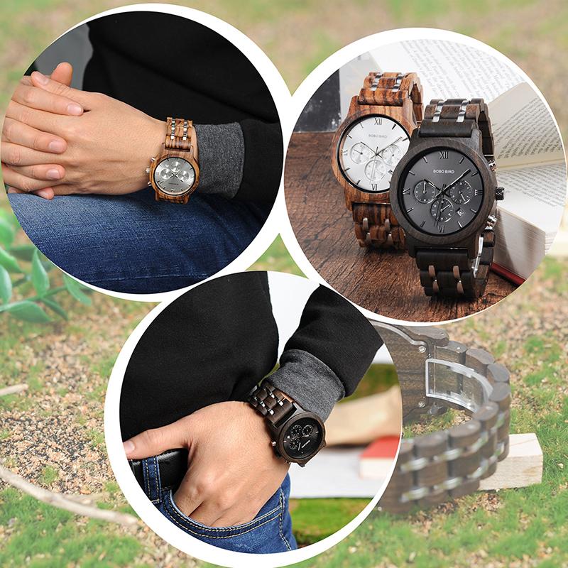 wooden watch for men BOBO BIRD BRAND watches (42)