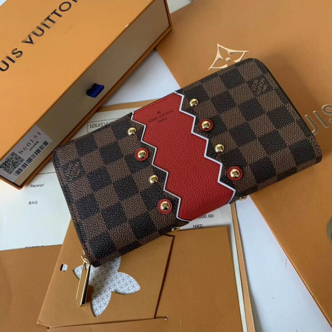 / Louis Vuitton 2018 new ZIPPY ladies long zipper wallet hand wallet N60145