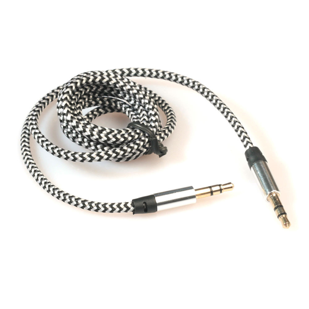 3.5mm Stereo Car Auxiliary Audio Cable To Male For Smart Phone Jun12 Professional Factory Price Drop Shipping #nd