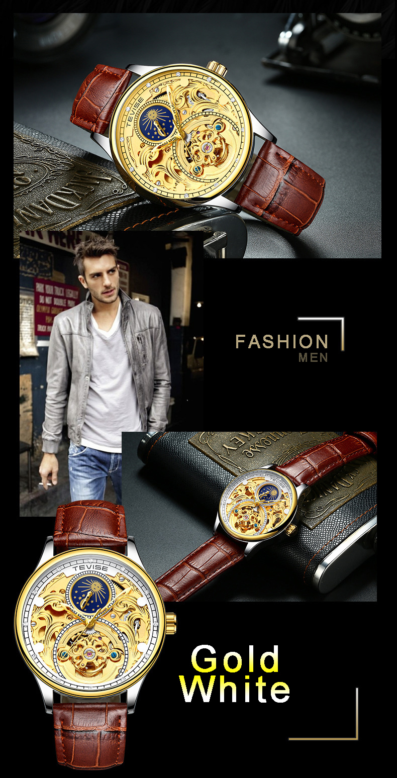 GOLD WATCH MEN 2