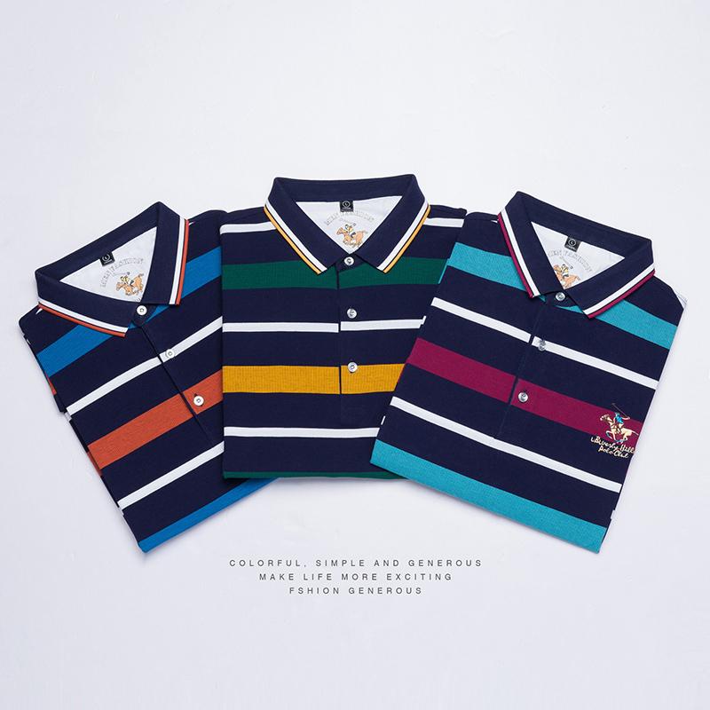 2019 Nueva Alta Calidad Topstees Hombres Hombres de Negocios Marcas Camisas Polo bordado 3d Polos Poloshirt Mens 8080 C19041501