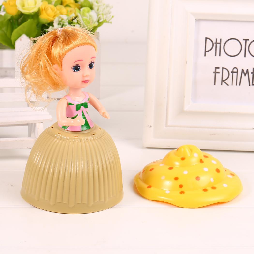 Fashion New Cartoon Cupcake Princess Creative Deformed Doll For Girls Fashion Toys