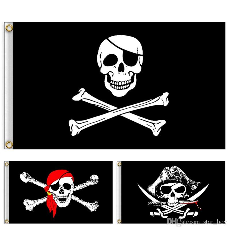Pirate Dulaien 3x5ft Pirate Poly Flag Jolly Roger