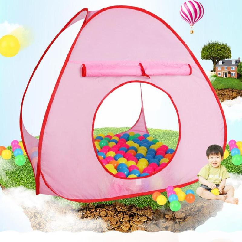 1pcs Baby Play Tent Toys Foldable Children Kids Play Tents Ball Pool Outdoor Games Tent House Portable Children Outdoor Sports