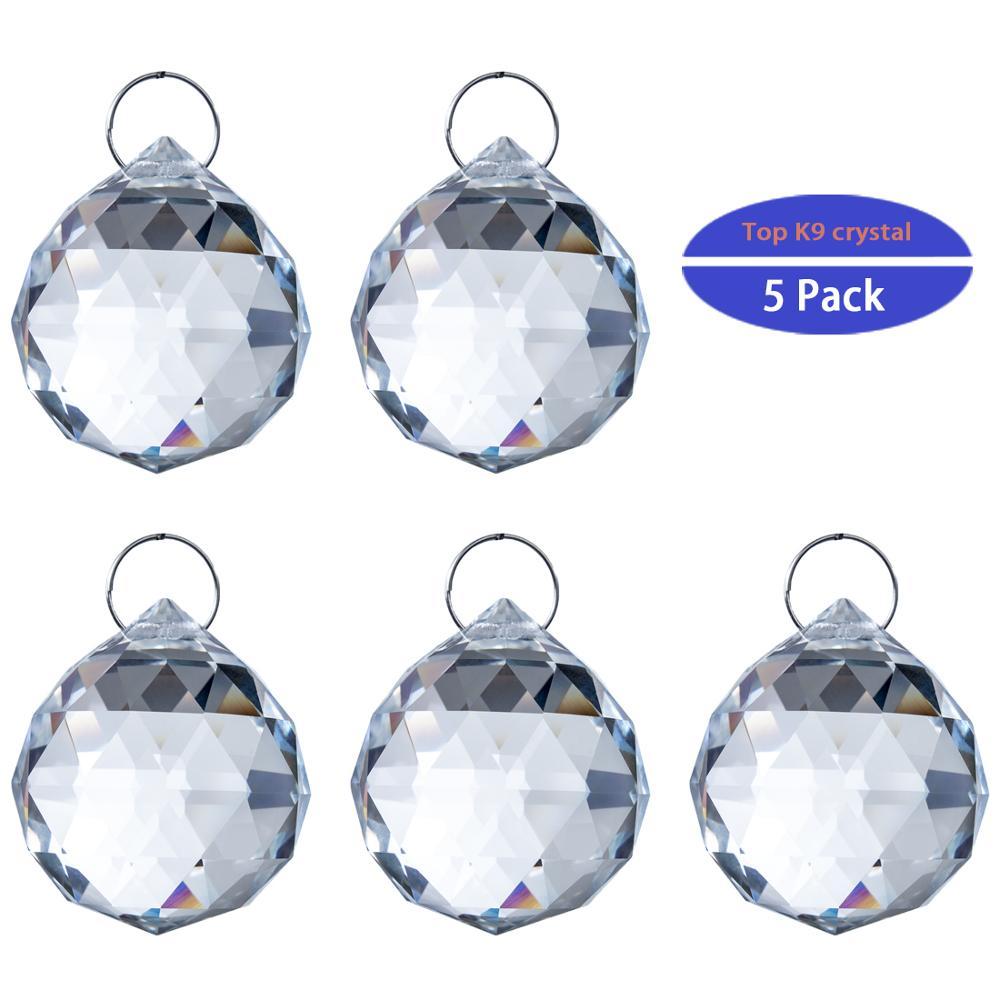 20Pcs Dark Purple Facted GLASS CRYSTAL Beads Chandelier Part Prisms Pendant DIY