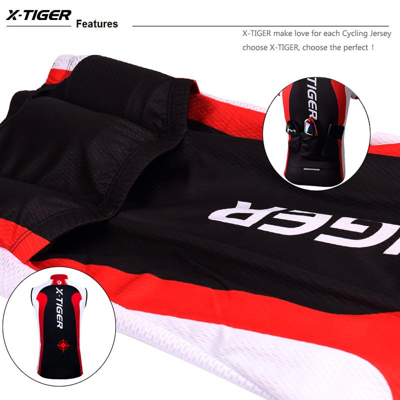 X-tiger Pro Велоспорт жилет лето велосипед одежда Майо Ropa Cyclismo Hombre Mouwlless Mtb велосипеды спортивная одежда