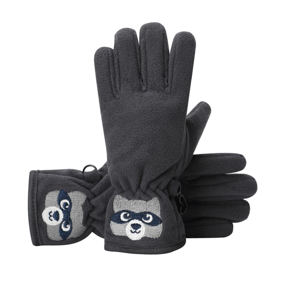 Gloves 1Pair Anti-slip Kids Children Cloth Fingerless Colorful Stylish