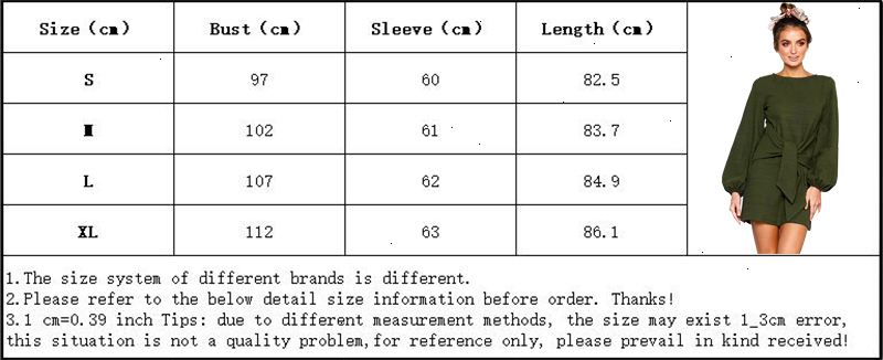 Casual Solid Sashes Dress Women Autumn Long Sleeve O Neck Bodycon Mini Party Dresses Short Vestido Vintage Mujer Elegante (4)
