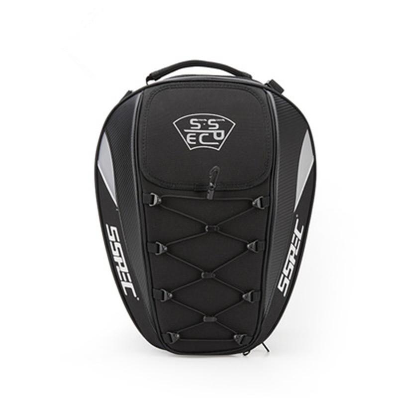 Sacoche de selle arri/ère pour moto grande capacit/é imperm/éable sac de queue de moto sac de r/éservoir de carburant arri/ère pour moto casque de moto si/ège arri/ère sac /à dos sac de queue de moto