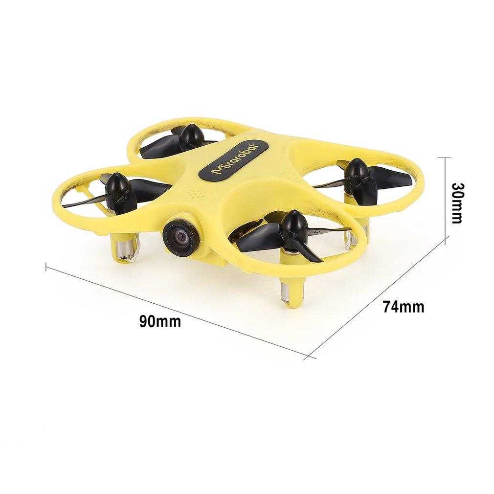 Quadricoptère de course FPV S60 5.8G, mini drone haute vitesse RC avec mode de stabilité de la caméra 600TVL / 5mW