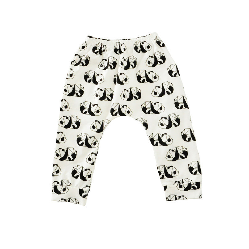 Baby Pants Toddler Baby Boys Girls Kids Cute Cartoon Animal Elastic Waist Pants Leggings Clothes NDA84L24 (24)