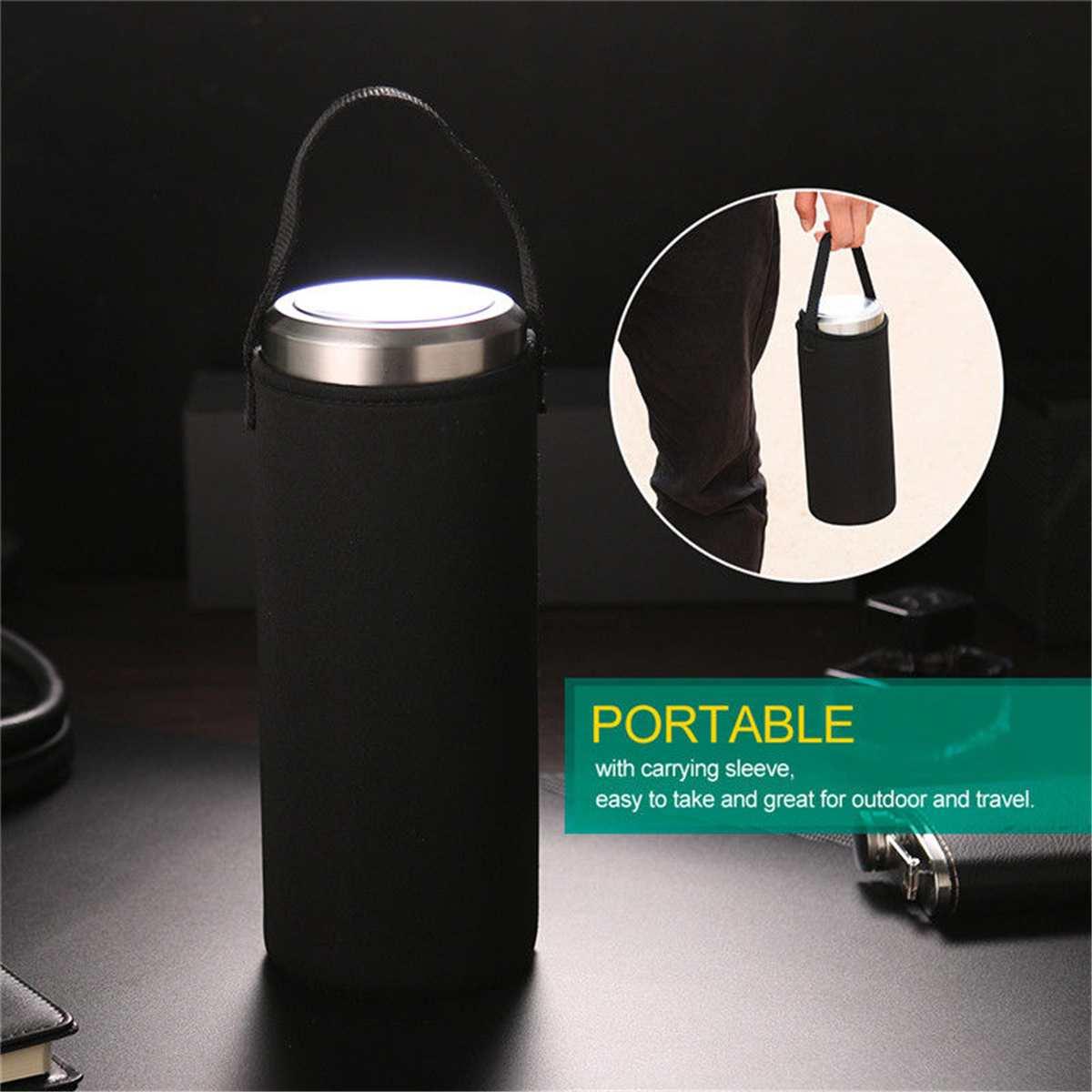 800ML/1000ML Sport Water Bottles Tea Infusers Glass Water Bottle Portable Leakproof Drinkware Vacuum Tea Coffee Cups Travel Mugs