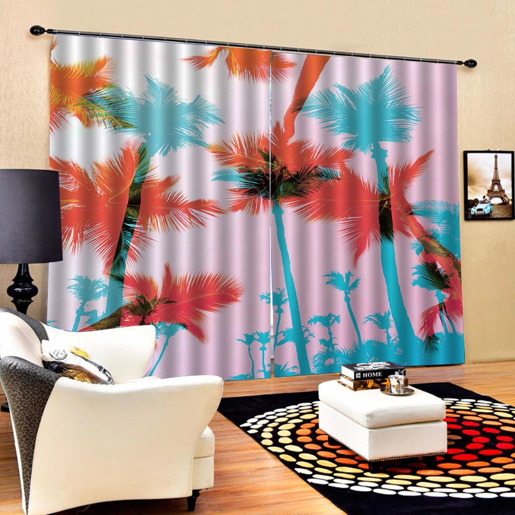 3D Hills Flower 87 Blockout Photo Curtain Print Curtains Drapes Fabric Window UK