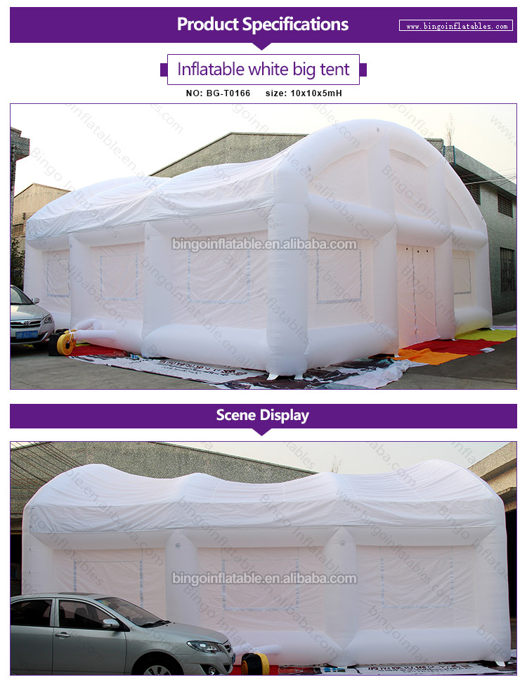 BG-T0166-Inflatable white big tent_1