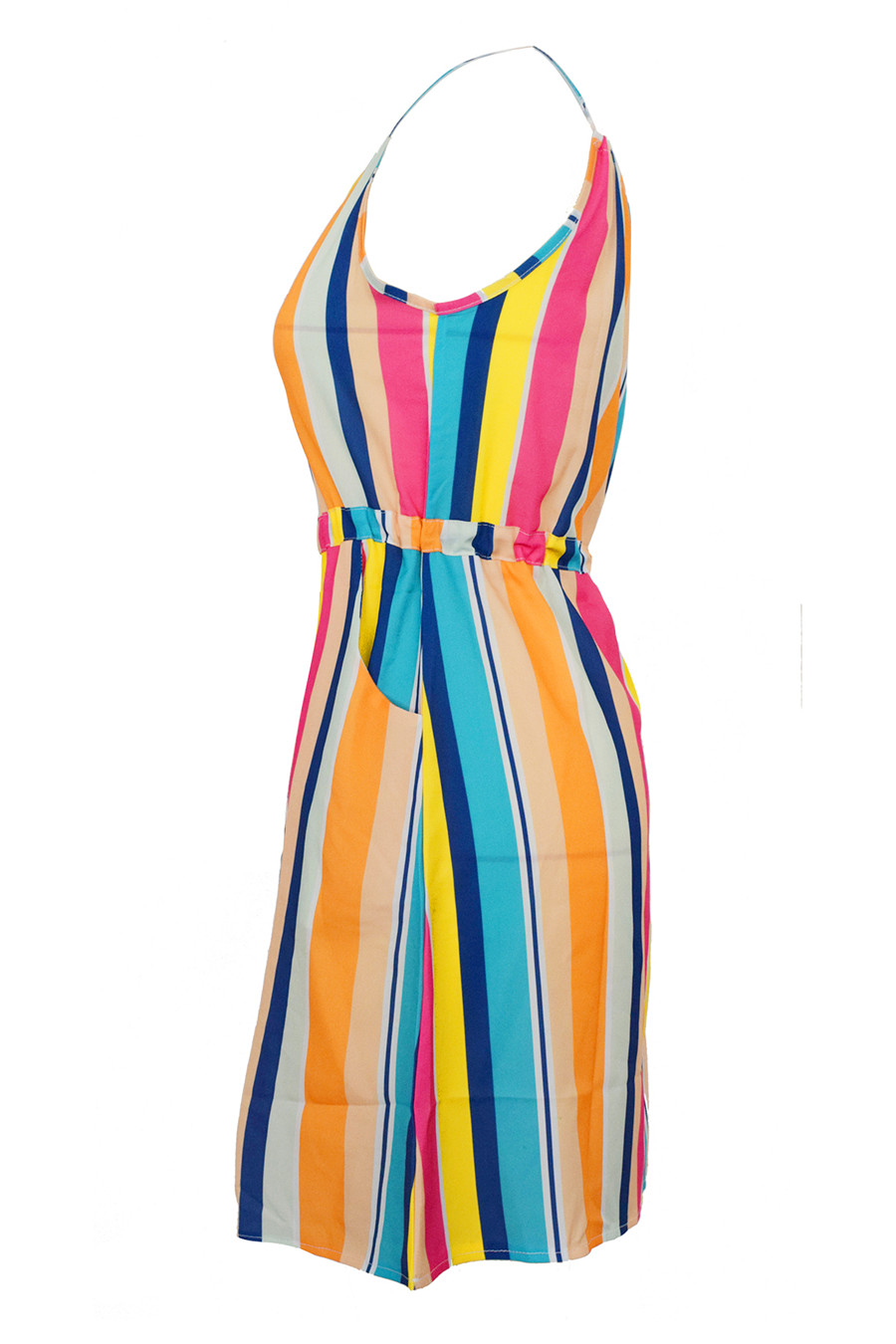 Gladiolus Chiffon Women Summer Dress Spaghetti Strap Floral Print Pocket Sexy Bohemian Beach Dress 2019 Short Ladies Dresses (27)