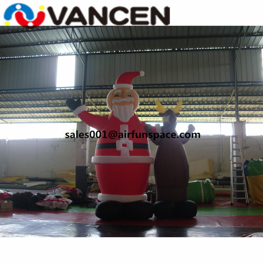 inflatable christmas decoration14