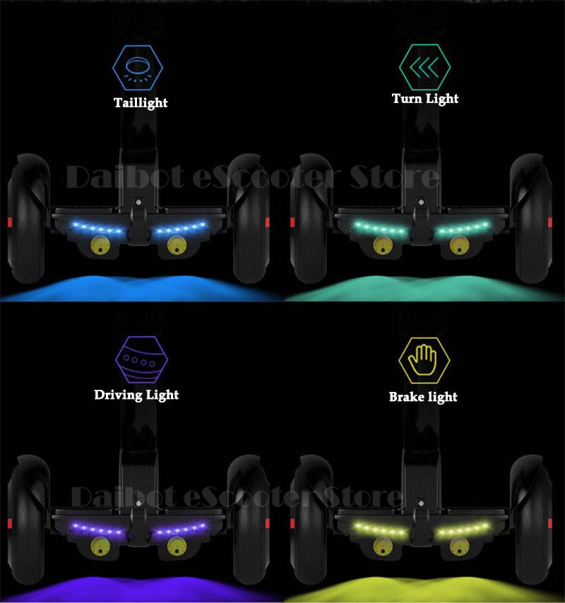 Daibot Electric Scooter Adults Two Wheels Self Balancing Scooters 10 Inch 54V 700W Smart Balance Hoverboard With BluetoothAPP (16)