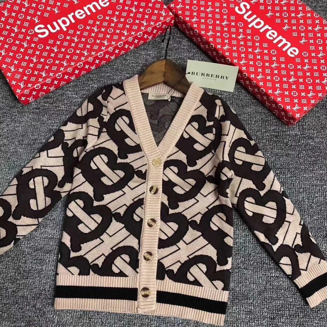 enfants pull-over 2020 automne printemps pour enfants garçons bébé garçon hiver tricoté haut clothes Cardigans Infantil 121111