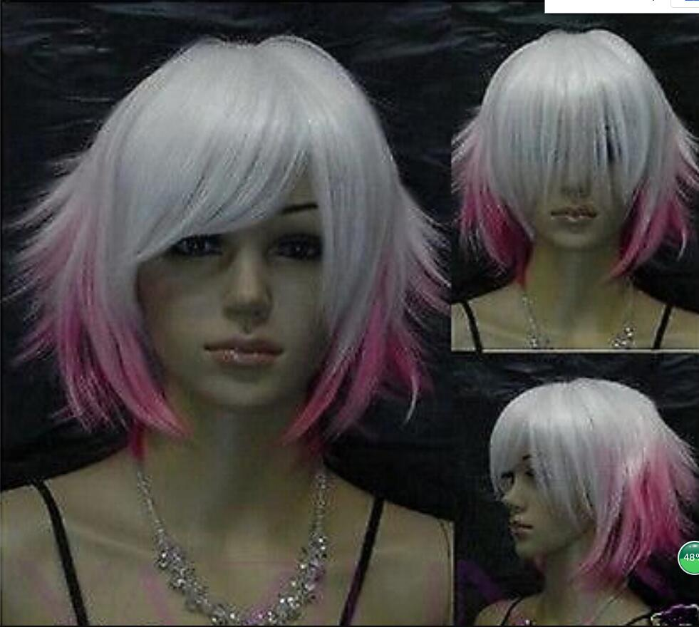 Discount Ombre Short Hair Color Pink Ombre Short Hair Color Pink 2020 On Sale At Dhgate Com