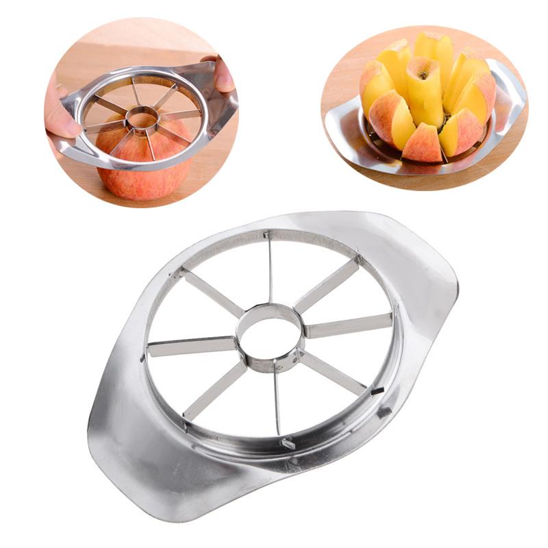 Apple Coupe Cutter Fruit Poire carottier Divider inox lame en métal