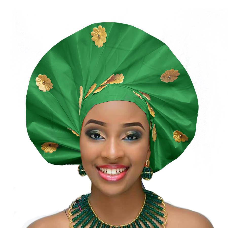2018 african headtie wraps aso oke gele nigerian headwear asobi headdress african turban (4)