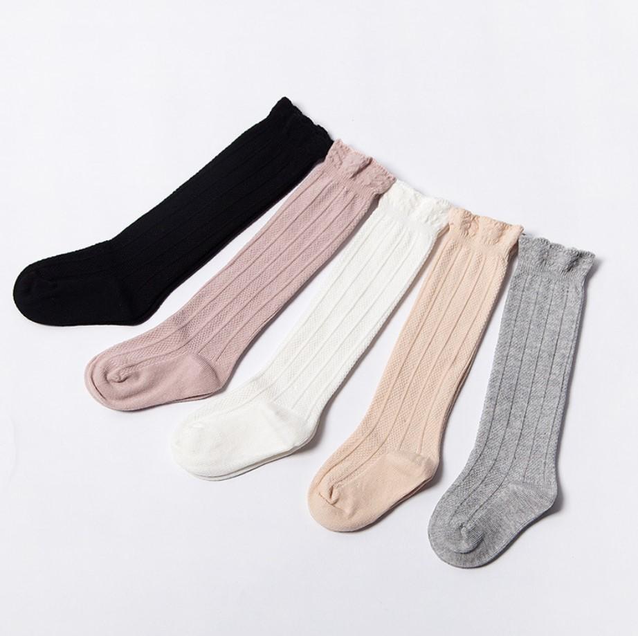 LN/_ Women Solid Color Knit Winter Leg Warmers Loose Style Boot Socks Splendid