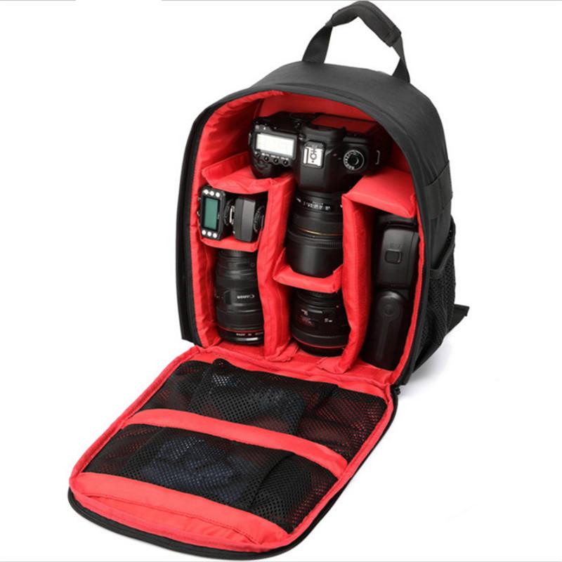 Multi-functional Camera Backpack Video Digital DSLR Bag Waterproof Outdoor Camera Photo Bag Case for Nikon for CanonDSLR (7)