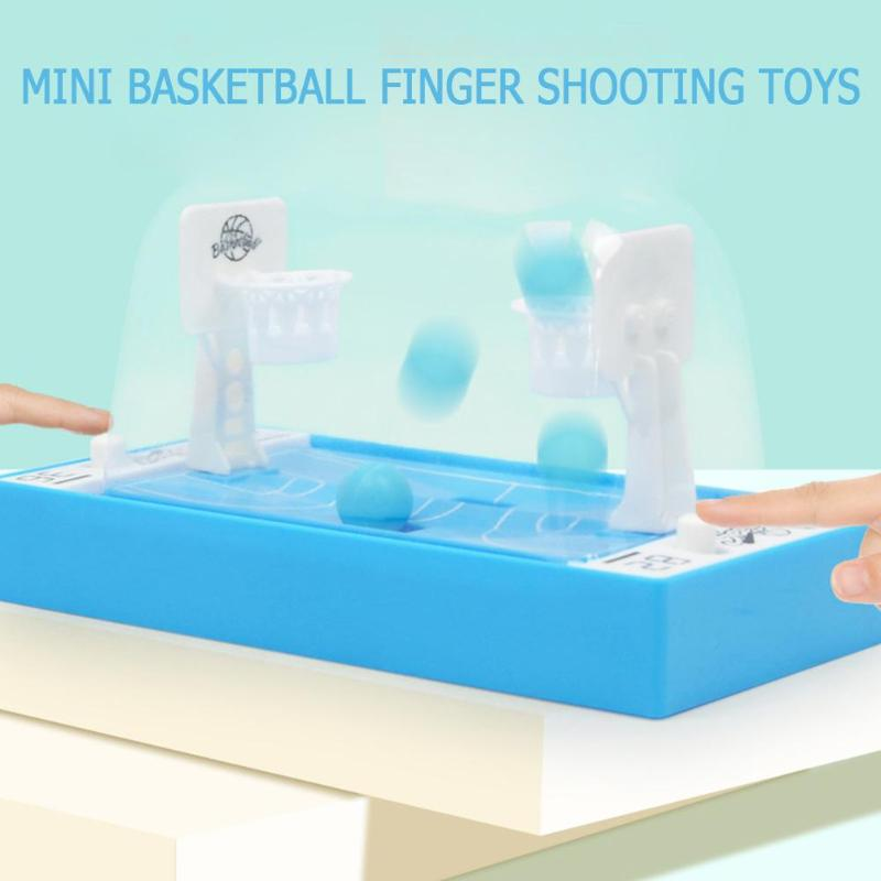 Mini Basketball Finger Shooting Toys Desktop Games Parent-Child Interactive Game Kids Education Puzzle Toy Gift