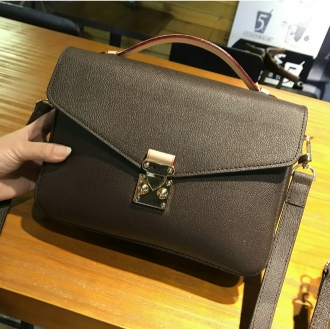 Free shipping! Fashion genuine leather women's handbag shoulder bags M40780