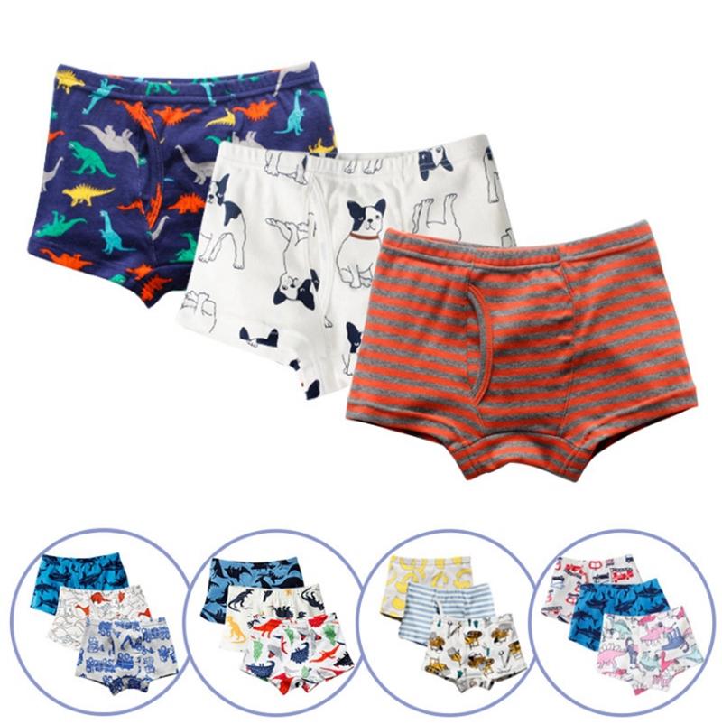 100/% Cotton Kids Boys Boxer Brief Underwear Spider-Man Cartoon Panties wholesale