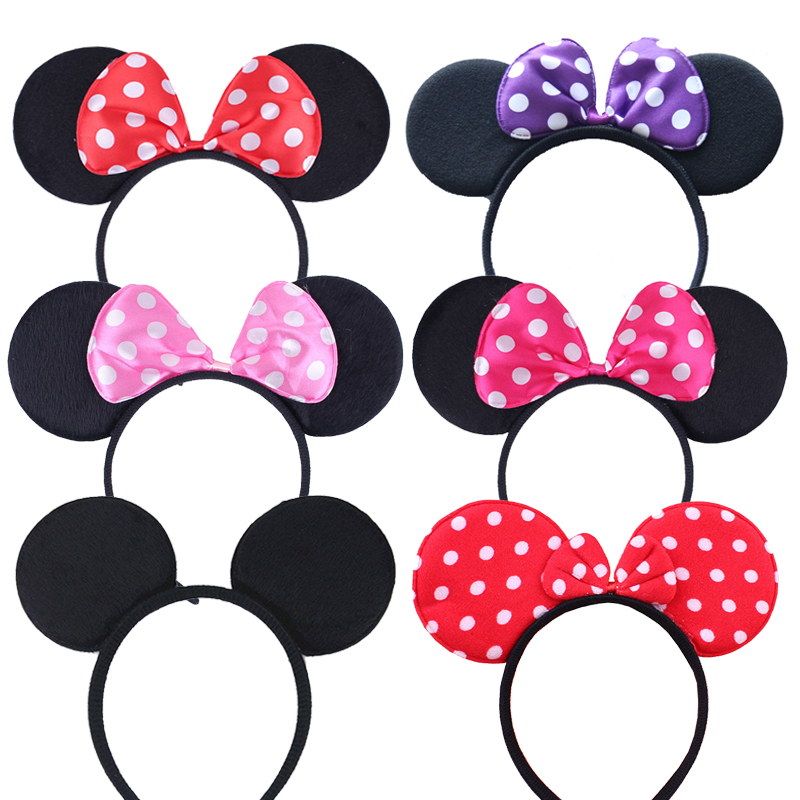 Baby Unisex Hair Ball Multicolor Printing Headband Elastic Bow Design Hair Band Gift Discount 2019