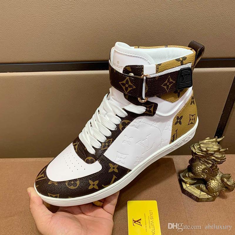 run shoes new photos wholesale sales Luxury Louis Vuitton LV Designer Mens Shoes Sports Breathable ...