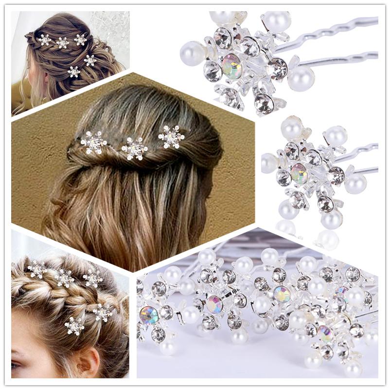 Fashion Gold Star Hair Twists Swirls Pins Spirals Hair Clips Decoration bbb