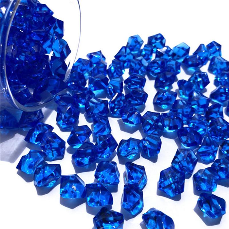 150x mini cristallo acrilico gemma pietra ghiaccio roccia il riempimento del vaso decorativo R1 C19041101