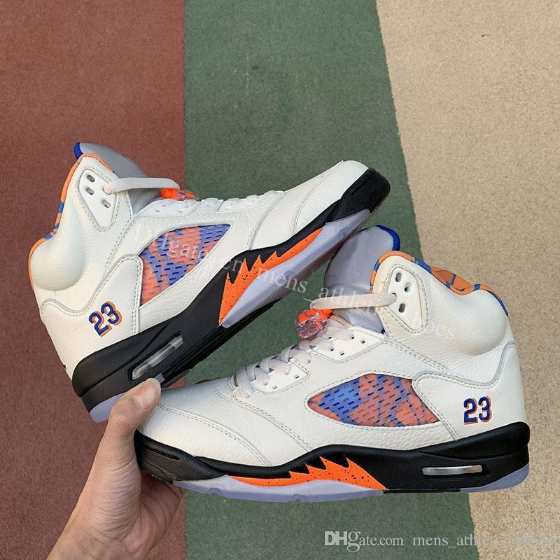5S Баскетбольные кроссовки мужские кроссовки Дизайнер 5 Бешеный бык красная замша International Flight V кроссовки OG Black Metallic мужчины спортивная обувь US7-13