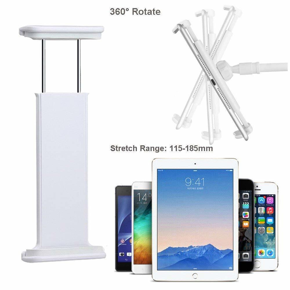 Ascromy Gooseneck Tablet Stand Holder Adjustable Mount For iPad Pro 10.5 iPad mini Air New iPhone 8 Plus 7 Long Arm Bed Support (8)
