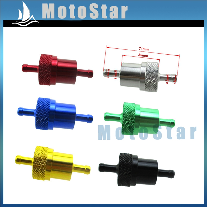 5x Fuel Filter for ATVs Go Karts Scooters Dirt Bikes