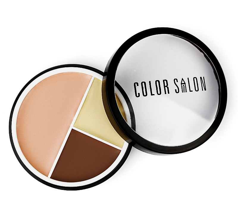 Channy Concealer Palette Makeup 15 Colors Cream Base Matte Foundation Face Facial Set
