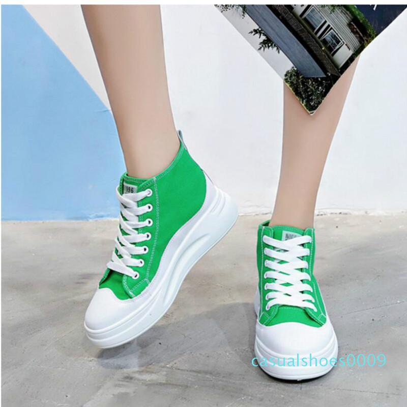 FH top Canvas Shoes Female Students Korean Version of Cloth Shoes Haraj