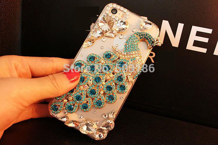 Beautiful Peacock Diamond Rhinestone case Crystal cover For Samsung Galaxy J2 J3 J4 J5 J6 J7 J8 2015 2016 2017 2018 Prime Plus