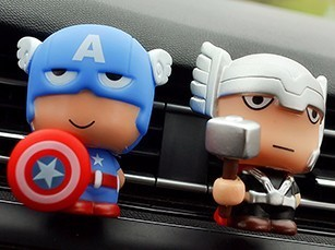Automotive-Freshener-Car-Perfume-Clip-For-The-Avengers--Superhero-Figures-Auto-Vents-Scent-Diffuser-In