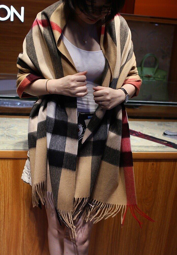 mujeres de calidad superior para hombre de la bufanda pañuelo para el cuello bufandas chal de cachemira mezcla # 5de585ae6f61750b0014688c
