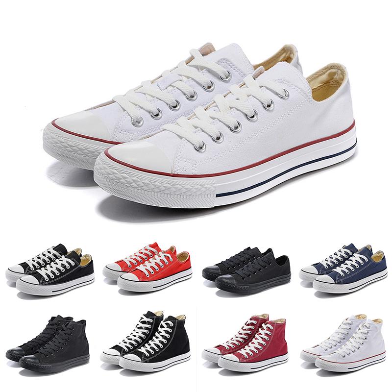 2019 Nouvelles chaussures de toile Chaussures Salut Reconstruit Slam Jam Noir Révéler Blanc Hommes Femmes BasketsCONVERSE 35 44