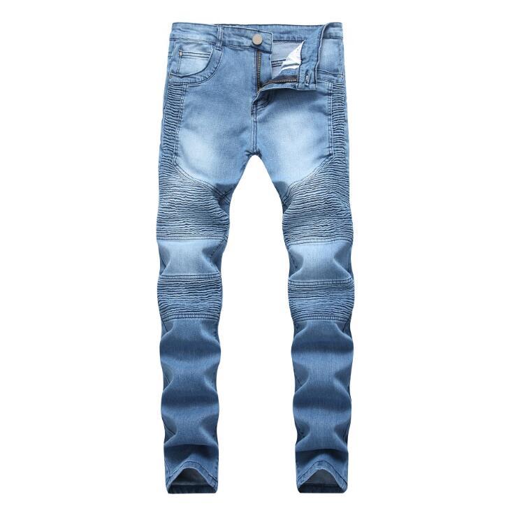 Men/'s Slim Fit Strappato Jeans Skinny Stretch da AMI Denim