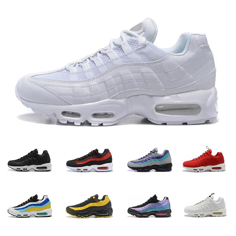 nike air max 95 Chaussures de running pour hommes Whosale baskets de sport traciners Whosale Aqua Laser Fuchsia Neon Triple White SE
