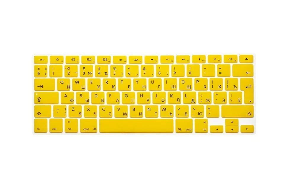 EU US Soft Silicon For Macbook Air 13 A1466 Keyboard Cover Russian Language Cover For Macbook Air 13 Retina13 Keyboard Cover (4)