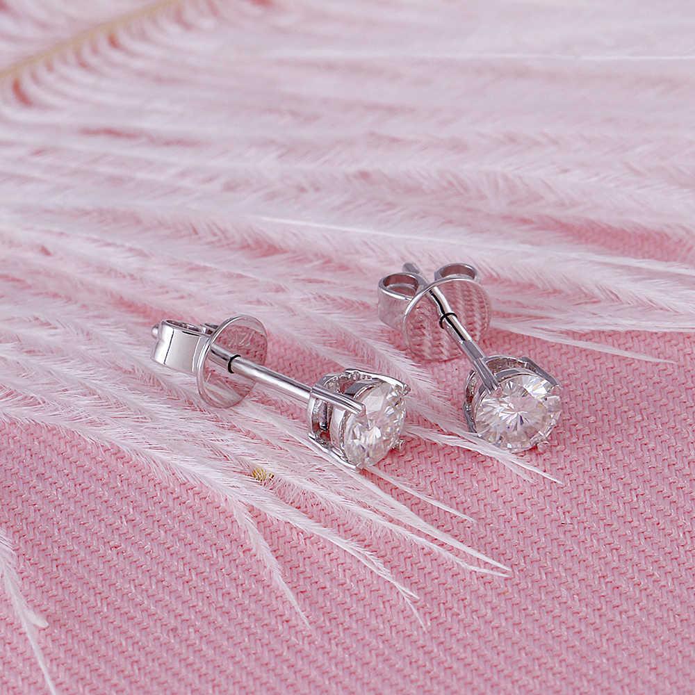 moissanite earring stud (4)