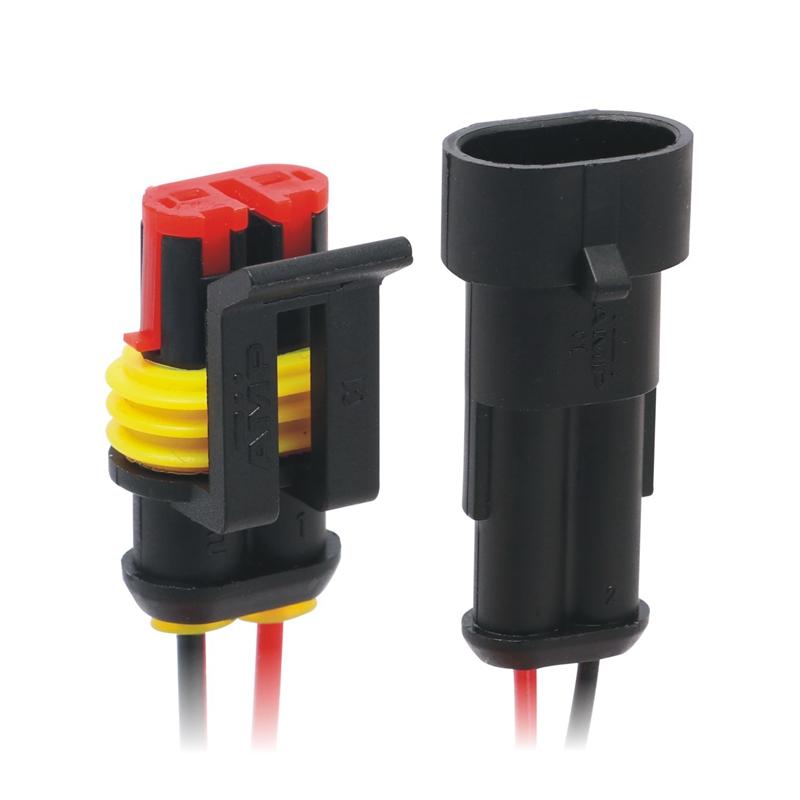 5set 3Pin Way wasserdicht Draht Steckverbinder Auto Auto Sealed elektrisches Set