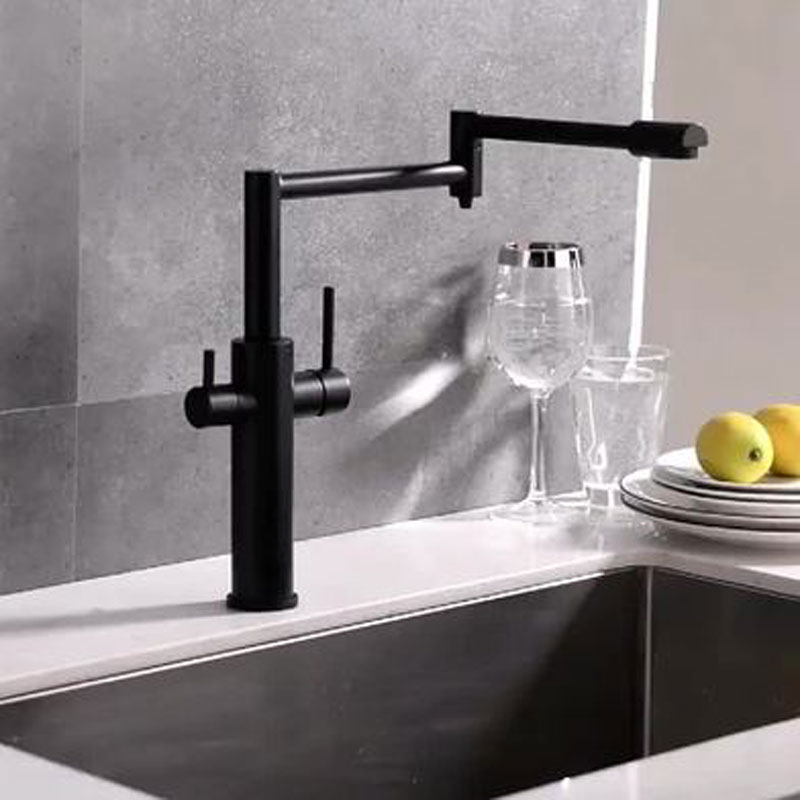 Home Household Tap Water Filter Purifier Faucet Ceramic Filter Prefiltration D7