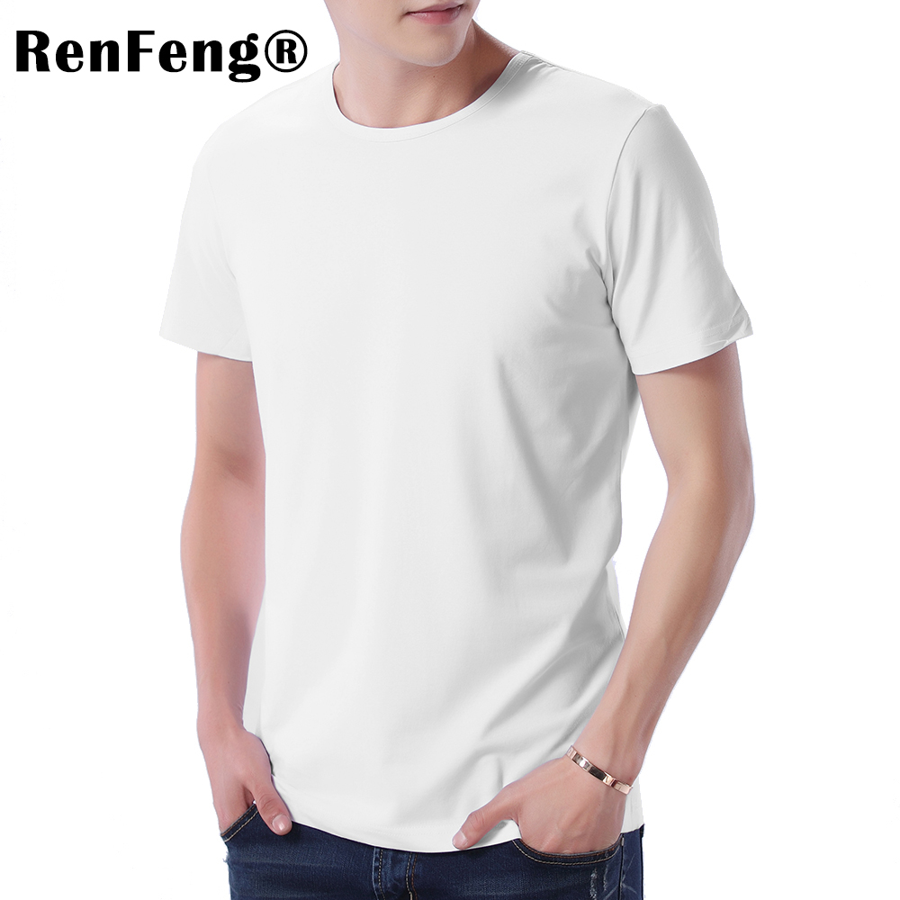 Fashion 2018 New Cool T-shirt Men Blank Tshirt Under shirt Tee Shirt Homme Short Sleeve Summer Tops Tees T shirt Male M-3XL (6)